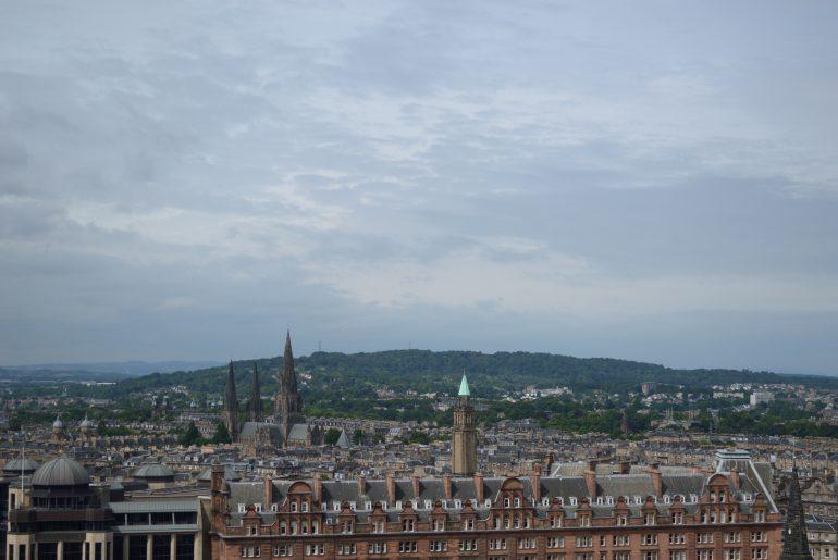 Noch mehr Blick über Edinburgh