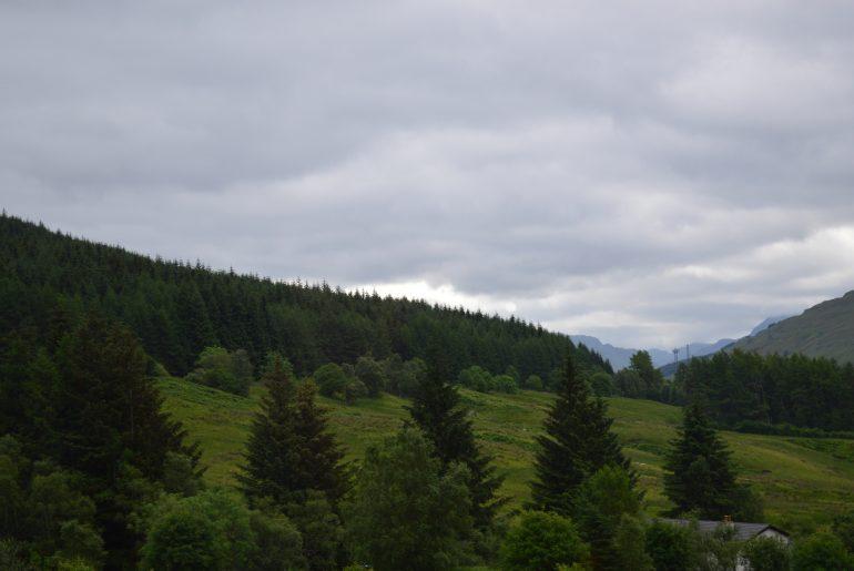 Auf dem Weg in die Highlands