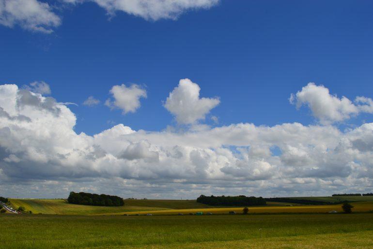 Landschaft um Stonehenge