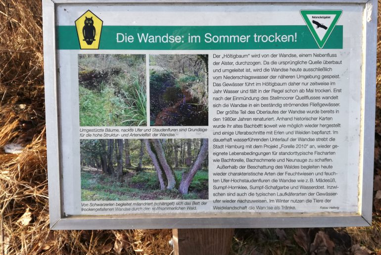 """""""Wandse"""" Infotafel"""
