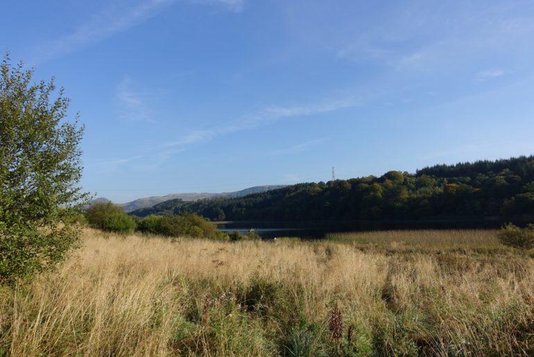 """Wogende Wiesen und das """"Craigallian Loch"""""""