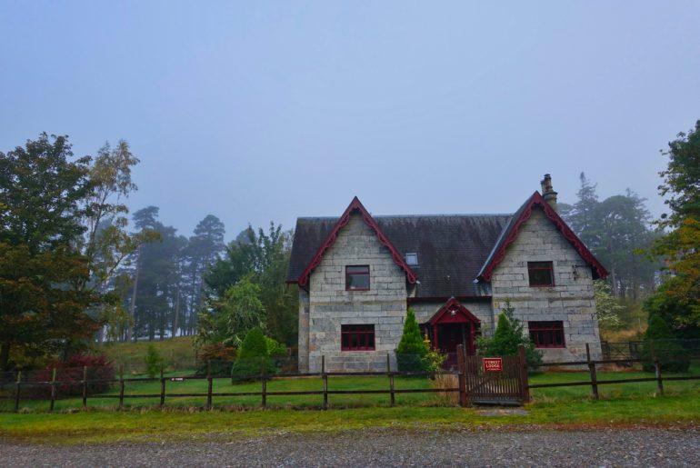 Die Forest Lodge - letzte Zivilisation vor dem Rannoch Moor