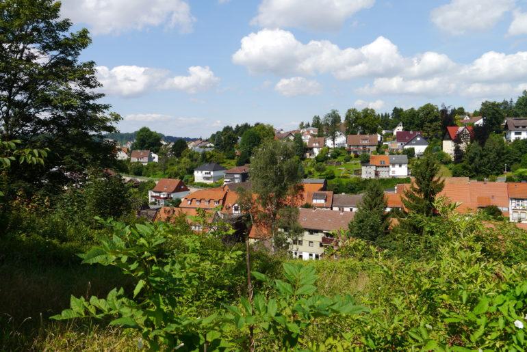 Blick auf Osterode am Harz