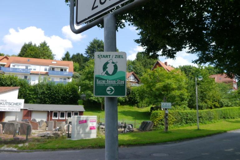 Start- und Zielpunkt des Harzer Hexenstiegs