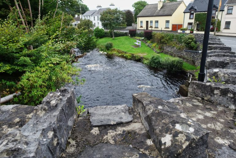 Fluss durch Oughterard