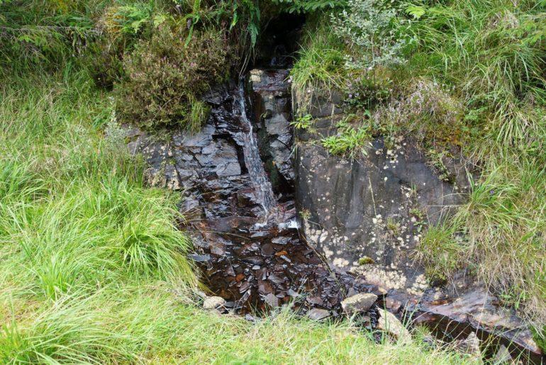 Miniaturwasserfall