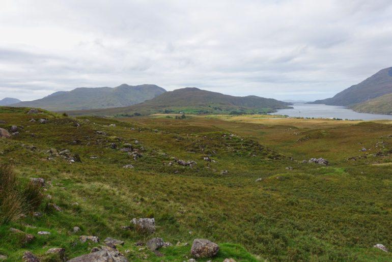 Ausblick auf Irlands einzigen Fjord