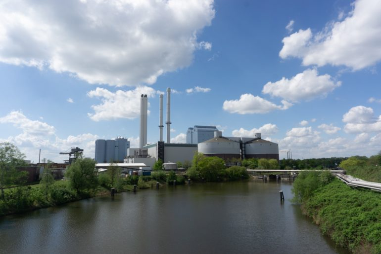 Vattenfall Kraftwerk Tiefstack
