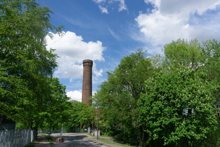 Turm der Hamburger Wasserwerke
